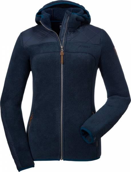 Schöffel Fleece Hoody Sakai Plus Women Fleecejacke navy blazer