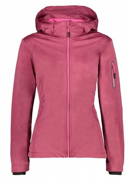 CMP Zip Hood Jacket Damen Softshelljacke goji melange (39A5016M)