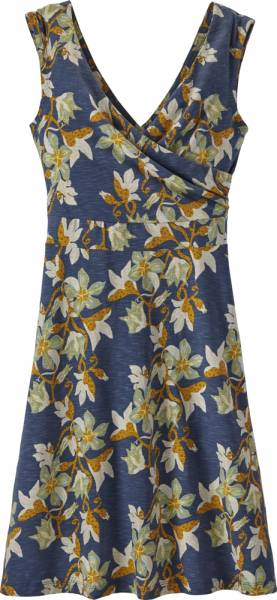 Patagonia Porch Song Dress Women Kleid squash blossom: dolomite blue