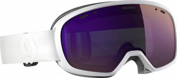 Scott Muse Pro Goggle white/enhancer purple chrome