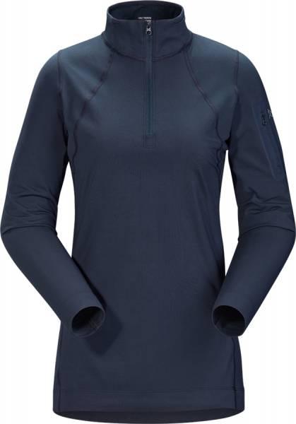 Arcteryx Rho LT Zip Neck Damen Funktionsshirt cobalt moon