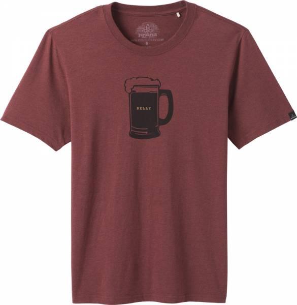 Prana Beer Belly Journeyman T-Shirt Men maple heather