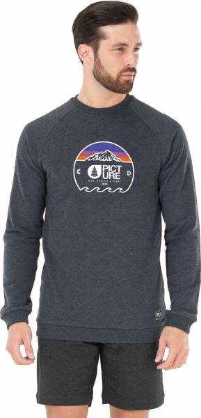 Picture Ryan Crew Men Pullover black