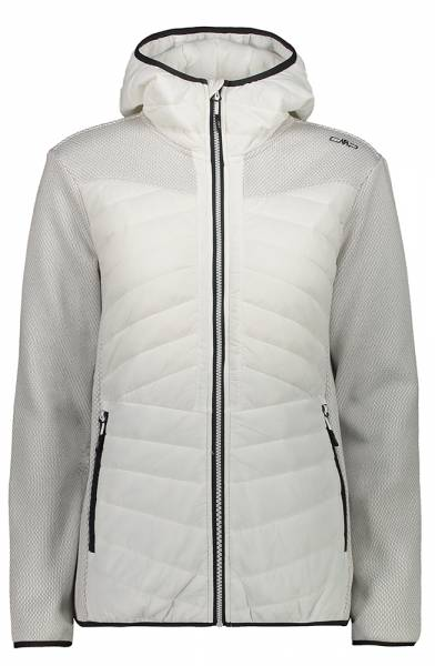 CMP Jacket Fix Hood Damen Midlayer b.co gesso (30H1616)