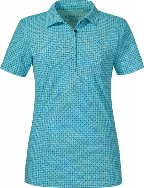 Schöffel Polo Shirt Altenberg1 Women blue radiance