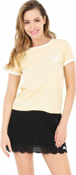 Picture Heritage Tee Women T-Shirt yellow