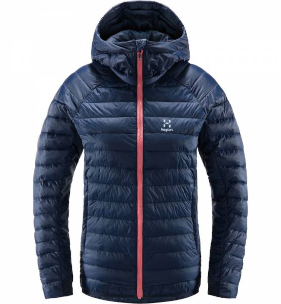 Haglöfs Spire Mimic Hood Damen Isolationsjacke tarn blue