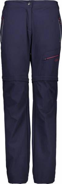 CMP Woman Pant Zip Off black blue (39T5426)