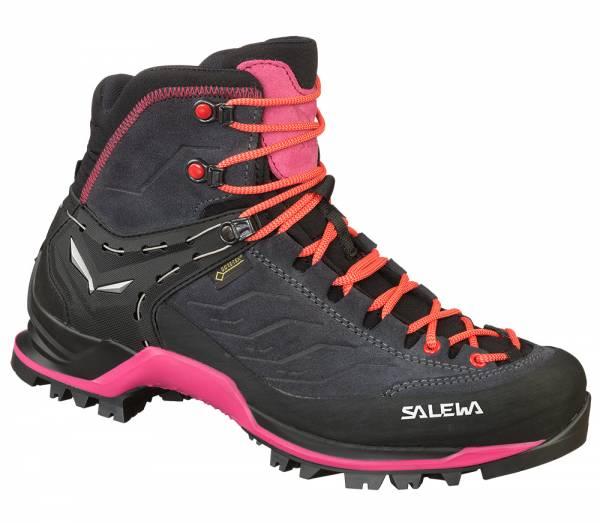 Salewa MTN Trainer MID GTX Women Wanderschuh asphalt/sangria