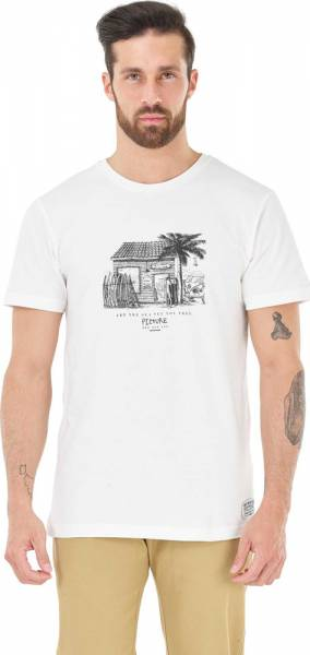 Picture Surf Club Tee Men T-Shirt white