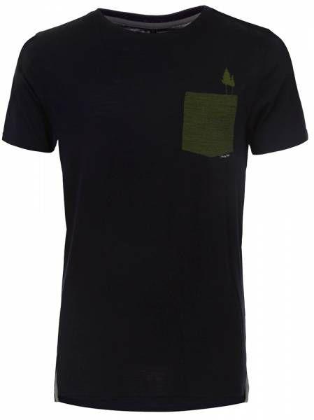 Pally´Hi Pocket Tree Men T-Shirt bluek