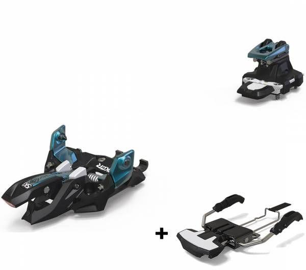 Marker Alpinist 9 Skitourenbindung black/turquoise inkl. Stopper