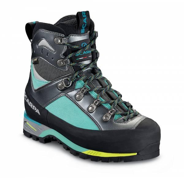 Scarpa Triolet GTX Wmn Auslauf Bergschuh green blue