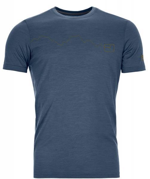 Ortovox 120 Tec Mountain T-Shirt Herren blue lake
