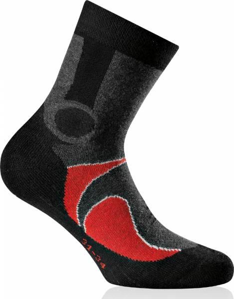 Rohner Trekking 2er Pack Kids Socken red