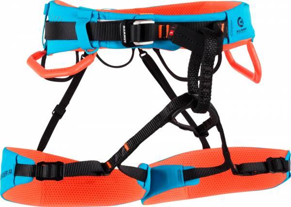 Mammut Sender Fast Adjust Harness Klettergurt ocean-safety orange