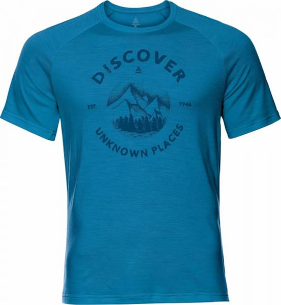 Odlo Concord T-Shirt S/S Crew Neck Men blue aster