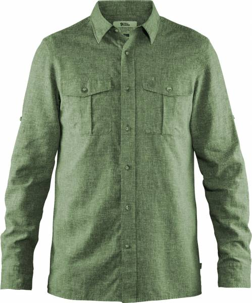 Fjällräven Övik Travel Shirt LS Men Green