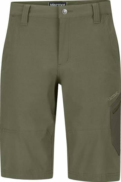 Marmot Limantour Short Men Softshellhose nori