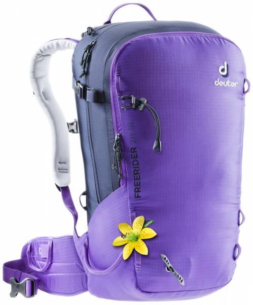 Deuter Freerider 28 SL Damen Skitourenrucksack violet-navy