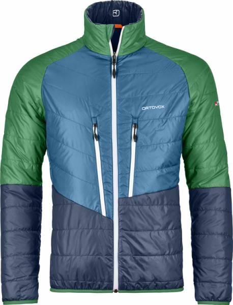 Ortovox Swisswool Piz Boval Jacket Men Jacke night blue blend
