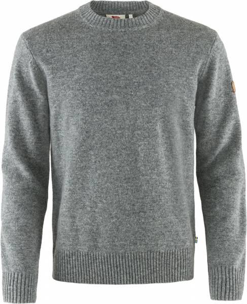 Fjällräven Övik Round-neck Sweater Herren Pullover grey