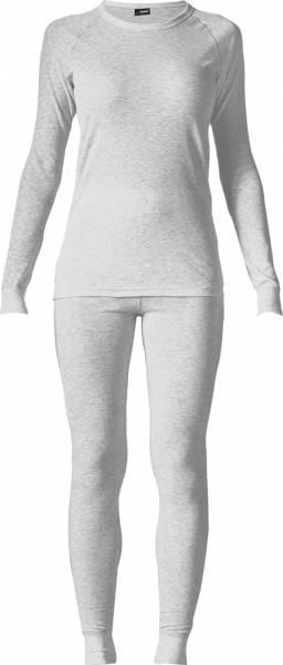 Maier Sports Damen Wäsche-Set silber melange