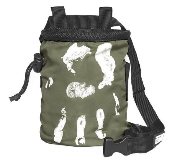 LACD Chalk Bag Hand of Fate army green