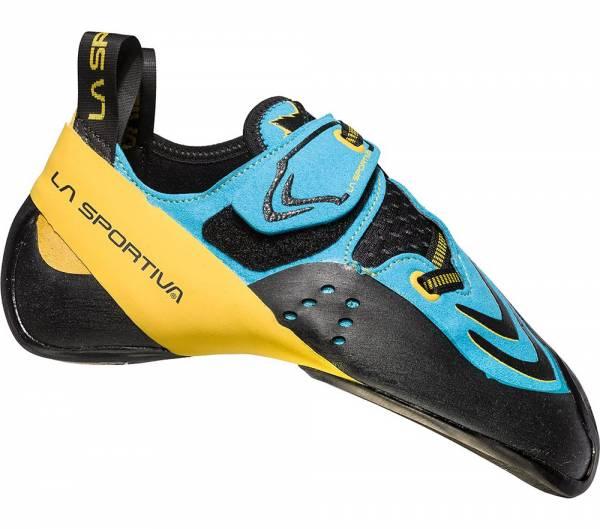 La Sportiva Futura blue-yellow Kletterschuh