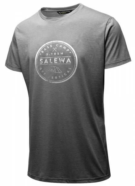 Salewa Base Camp Dri-Release S/S Tee Men Shirt grey melange