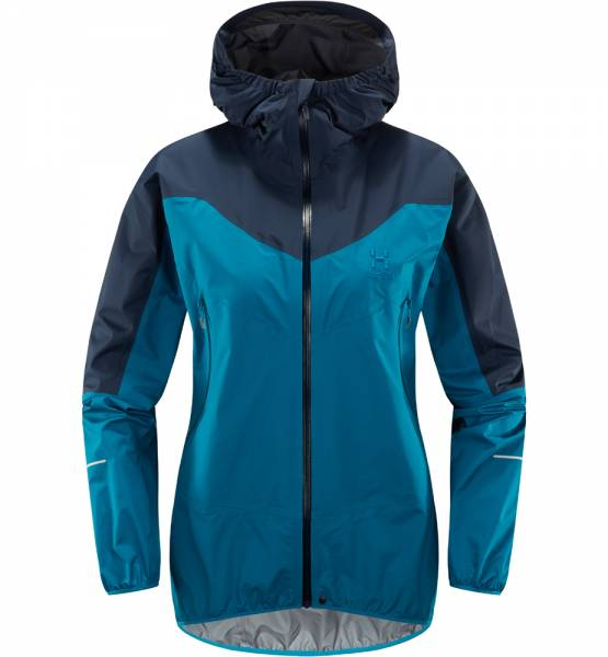 Haglöfs L.I.M. Comp Jacket Women Shelljacke mosaic blue / tarn blue