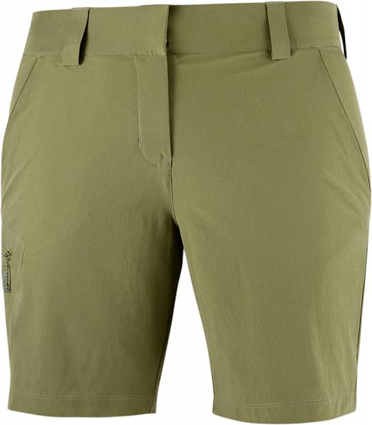 Salomon Wayfarer Shorts Damen Outdoor-Short martini olive