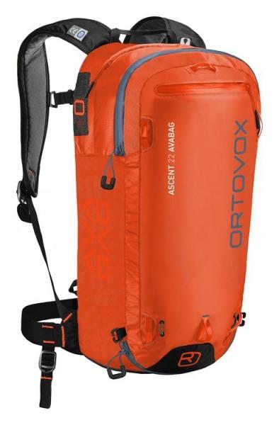 Ortovox Ascent 22 Avabag Kit crazy orange
