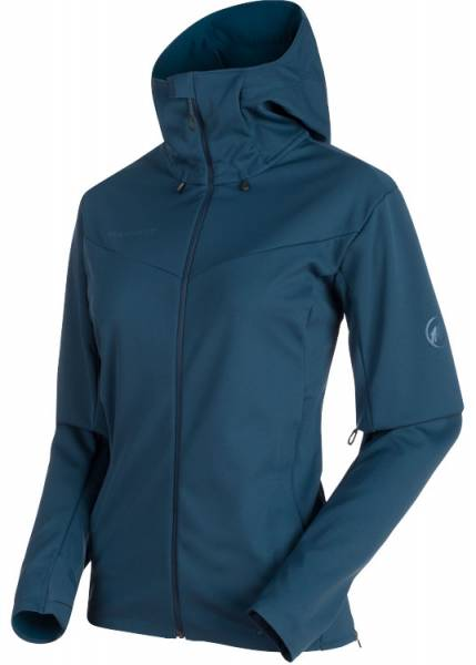 Mammut Ultimative V So Hooded Jacket Women jay-jay melange