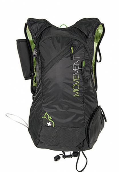 Movement Skialpi Pack Men 24 Rucksack black/green