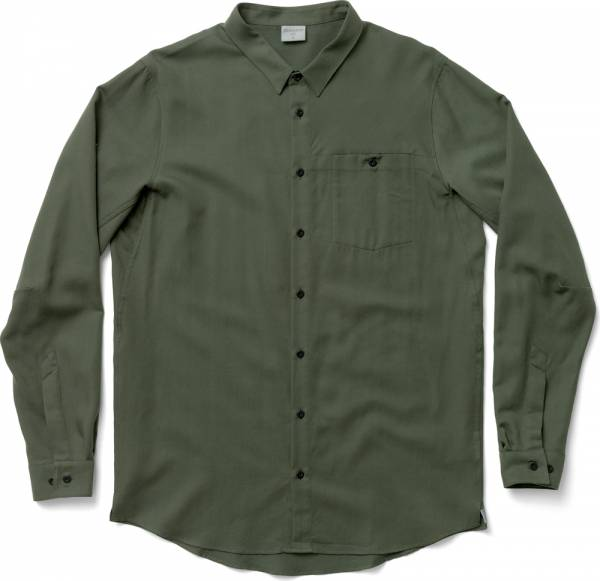Houdini M´s Out And About Shirt Herren Langarm-Hemd willow green