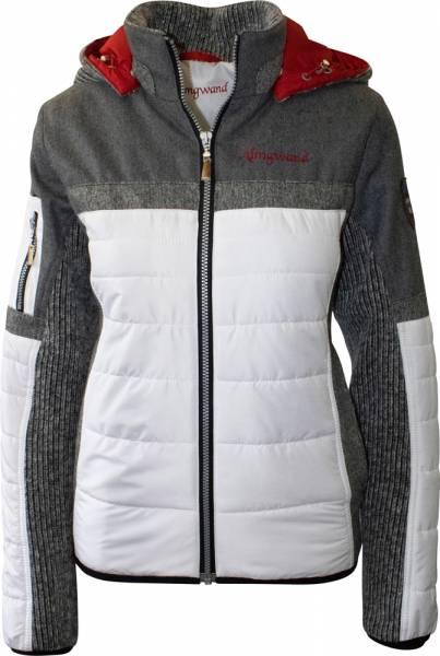 Almgwand Damen Jacke Nordhorn Isolationsjacke weißgrau