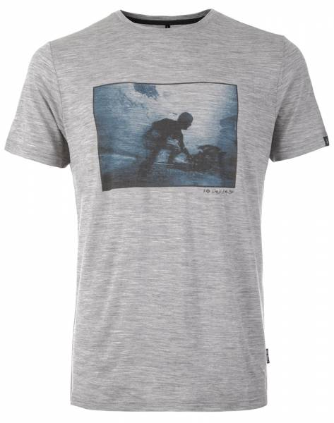 Pally´Hi Shape of Fluid T-Shirt heather grey