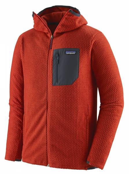 Patagonia M's R1® Air Full-Zip Hoody Herren Midlayer hot ember