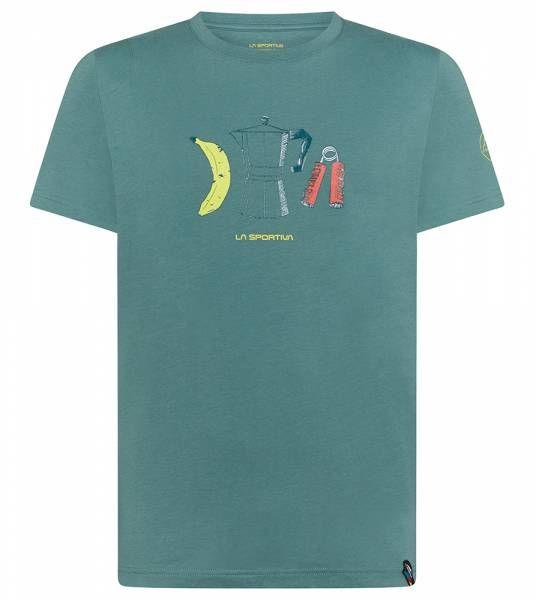 La Sportiva Breakfast Herren T-Shirt pine