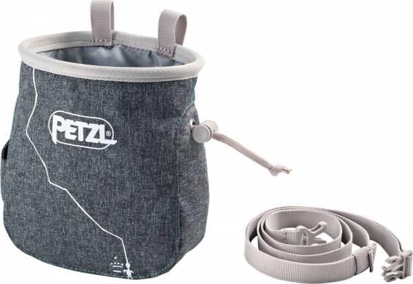 Mammut Klettergurt Petzl : Petzl saka grau meliert chalkbag chalkbags chalk