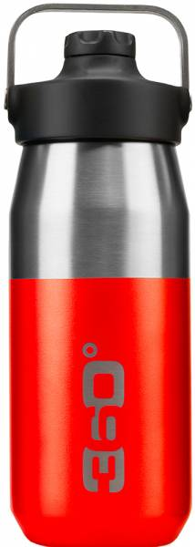360 Degrees Wide Mouth Insulated Bottle 550ml Trinkflasche Red
