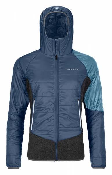 Ortovox Swisswool Piz Zupo Jacket Damen Isolationsjacke night blue