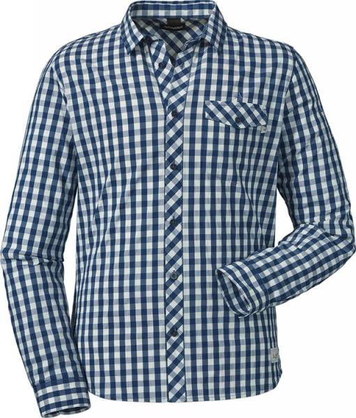 Schöffel Shirt Miesbach1 Men Hemd sargosso sea