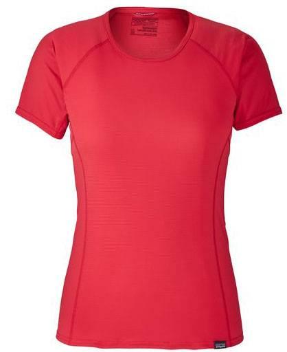 Patagonia Capilene Lightweight T-Shirt Women Funktionsunterwäsche maraschino