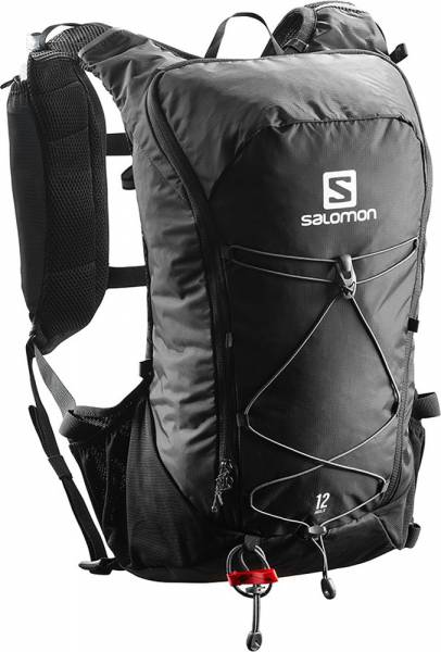 Salomon Agile 12 Set Trailrunning Rucksack black