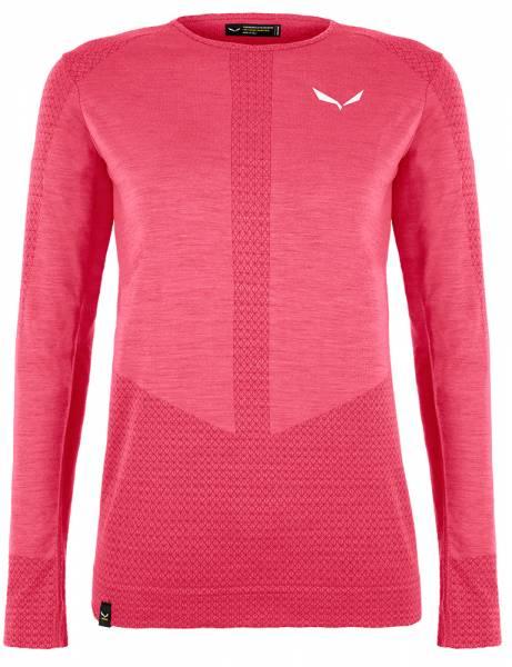 Salewa Zebru Responsive L/S Tee Damen Funktionsshirt virtual pink