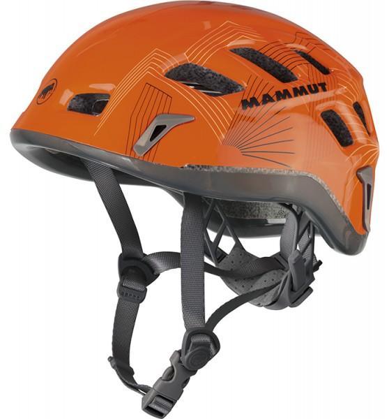 Mammut Rock Rider Auslauf orange-smoke Kletterhelm