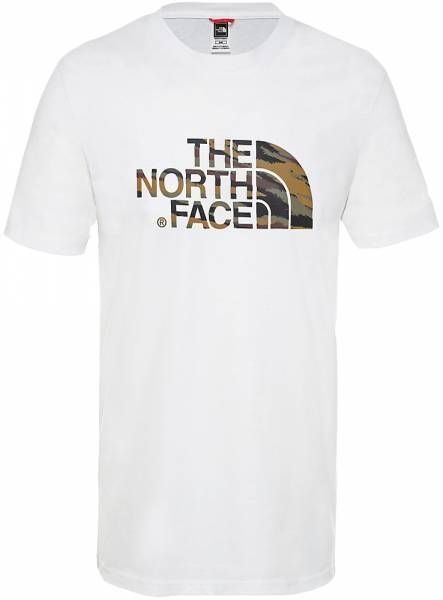 The North Face Easy Shirt TNF White/British Khaki/Tiger Camo Print