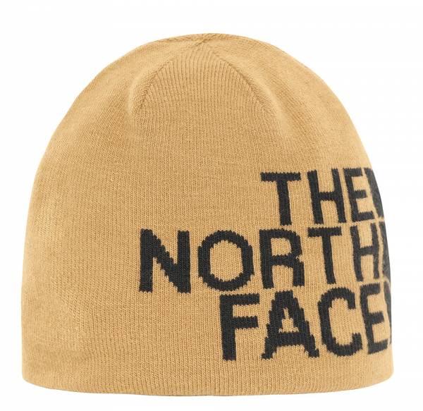 The North Face Reversible TNF Banner Beanie Mütze utility brown/hawthorne khaki